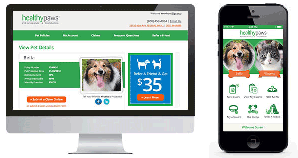 healthy paws online claims